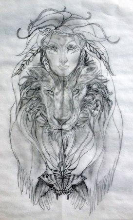 Kathy Sacred Tattoo Design