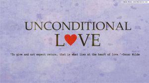 Unconditional Love-Oscar Wilde Quote