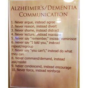 Alzheimers-Dementia-Communication Advice
