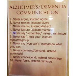 Alzheimers-Dementia-Communication Advice