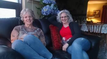 Deb and Kathy