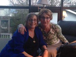 Lynne and Beth